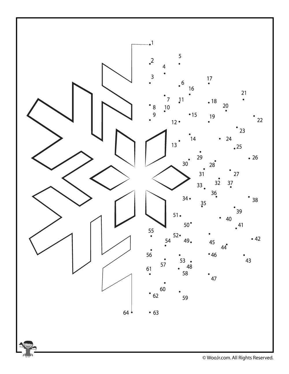 Dot to Dot Christmas Printables Christmas Connect the Dots Worksheets