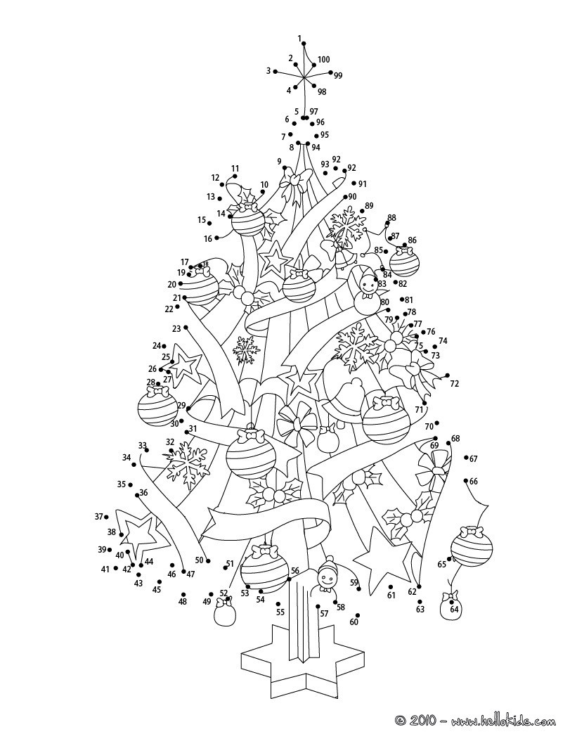 Dot to Dot Christmas Printables Christmas Dot to Dot 24 Free Dot to Dot Printable