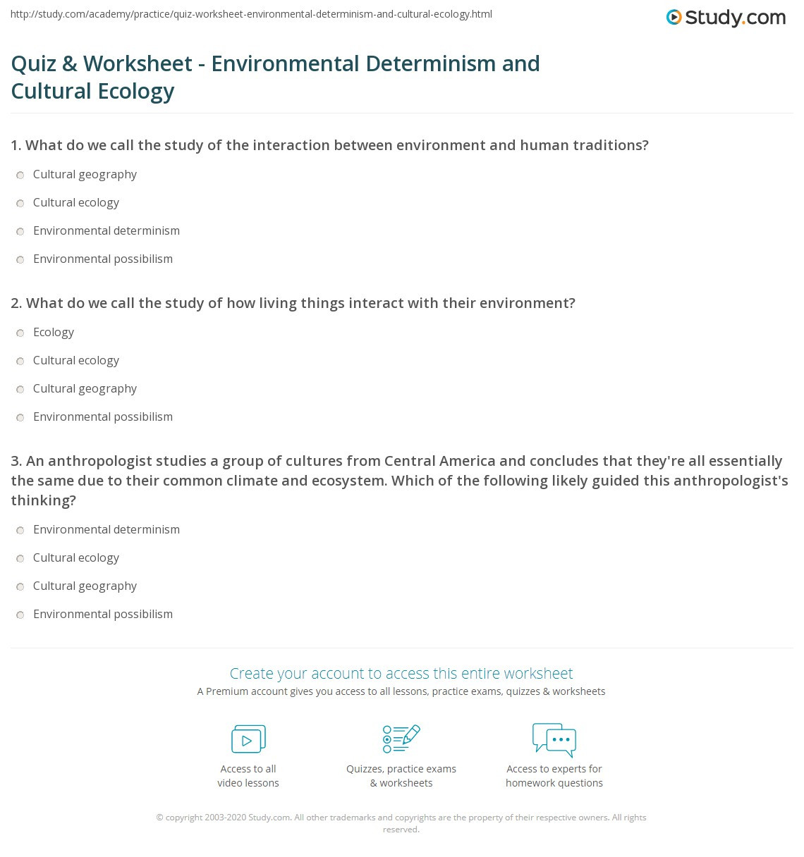 Ecosystem Worksheets 4th Grade Ecosystem Vocabulary Worksheets