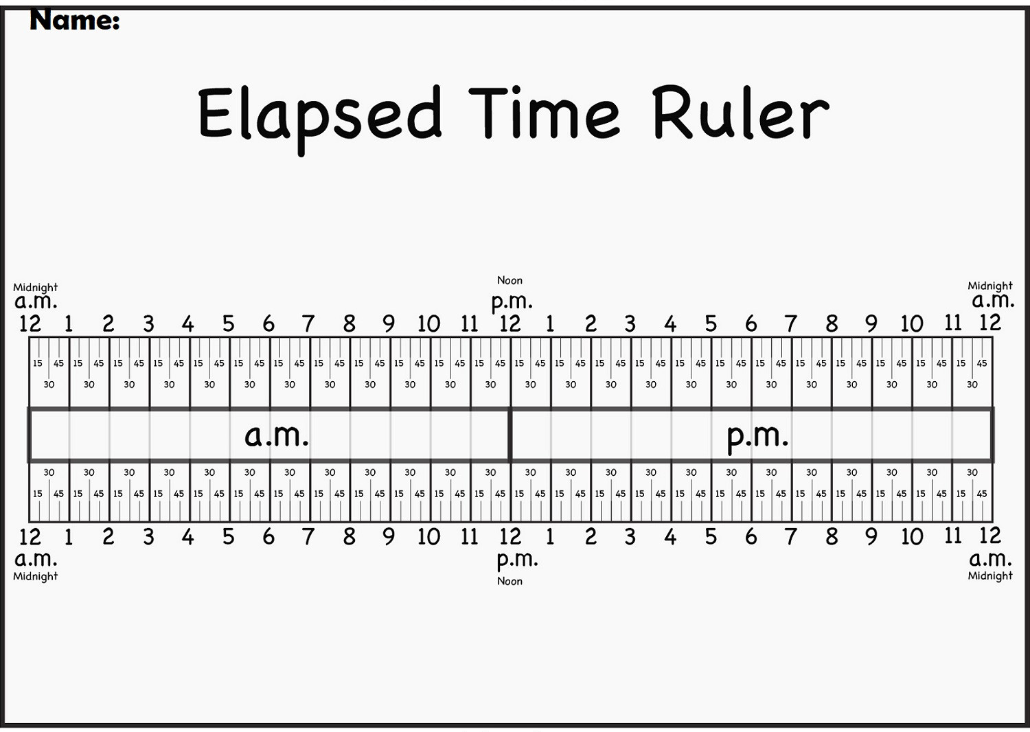 Elapsed Time 3rd Grade Worksheets Elapsed Time Worksheets