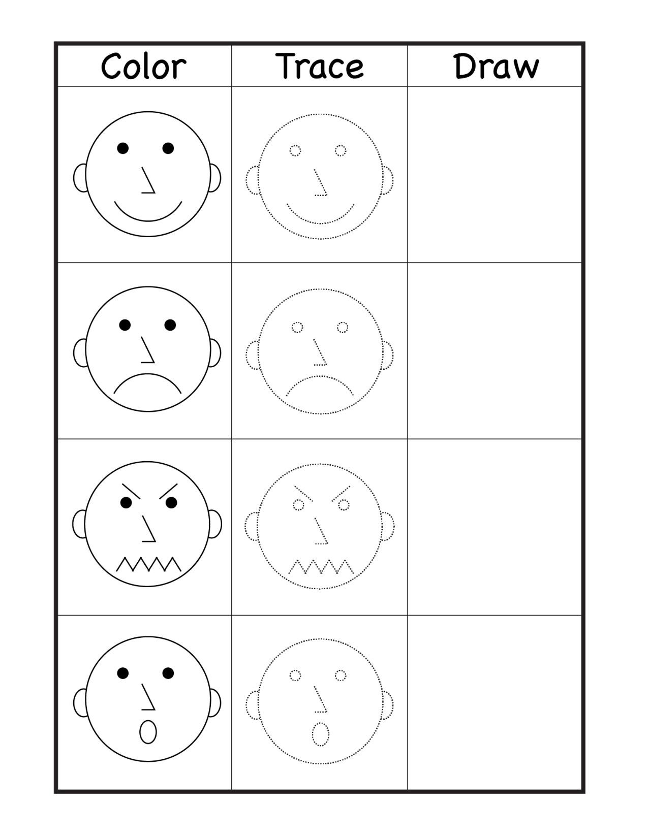 Emotions Worksheets for Preschoolers Art Archives Page 4 Of 10
