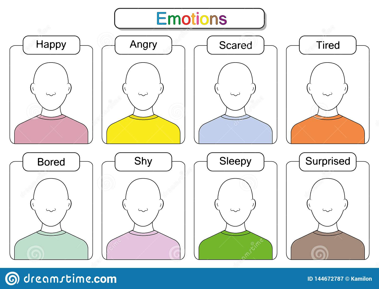 Emotions Worksheets for Preschoolers Children are Learning Emotions Draw the Faces Draw the