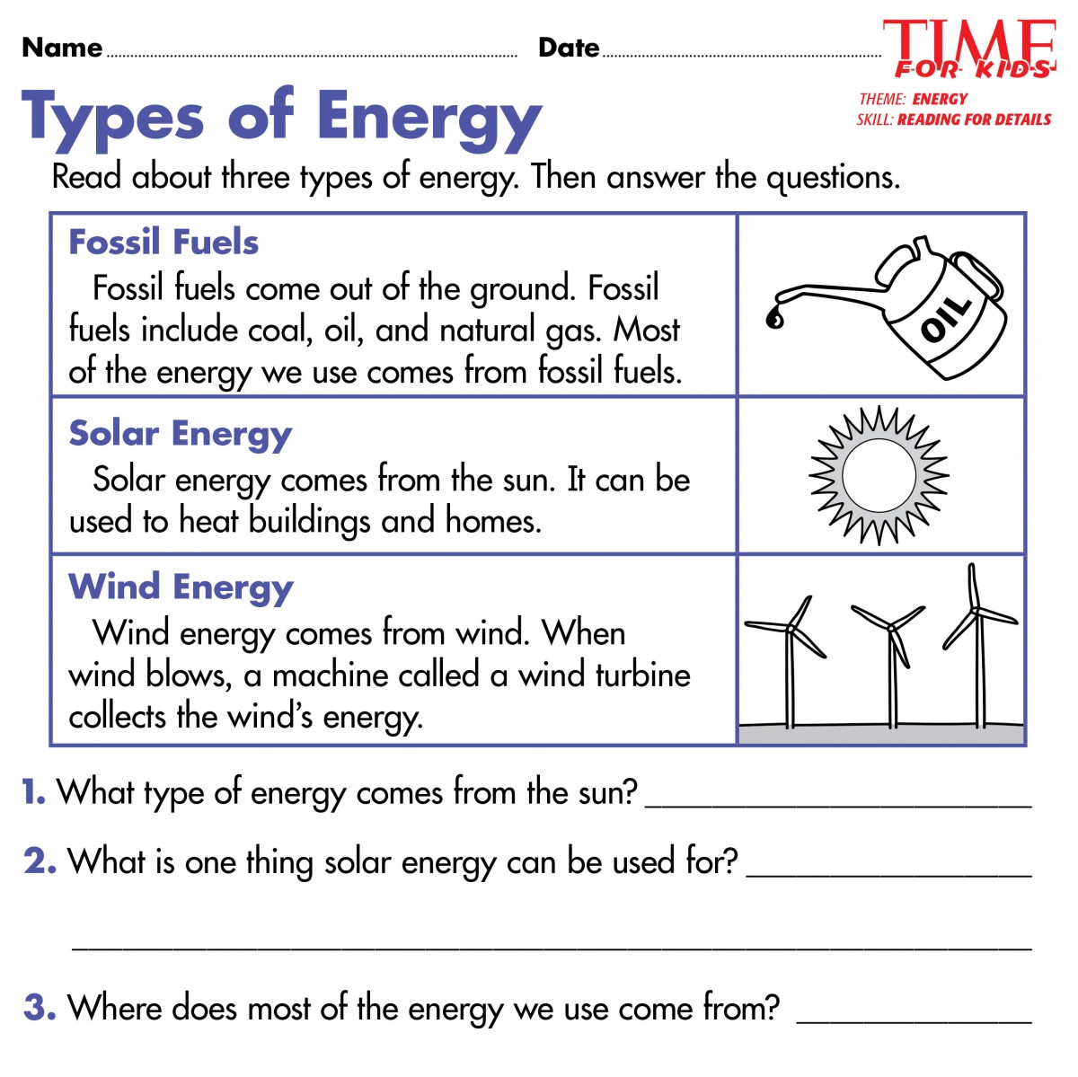 Energy Worksheets for 4th Grade Predator Prey Worksheet 4th Grade