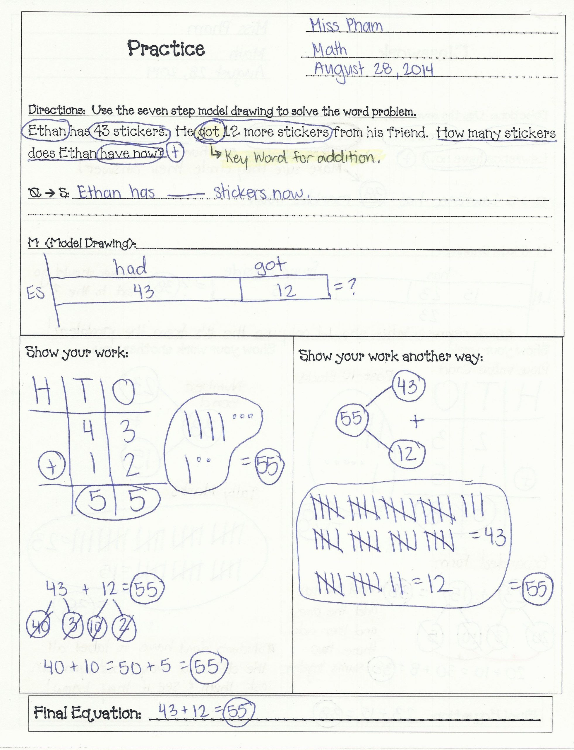 Estimating Word Problems 3rd Grade 3rd Grade Multiplication Word Problems Google Search