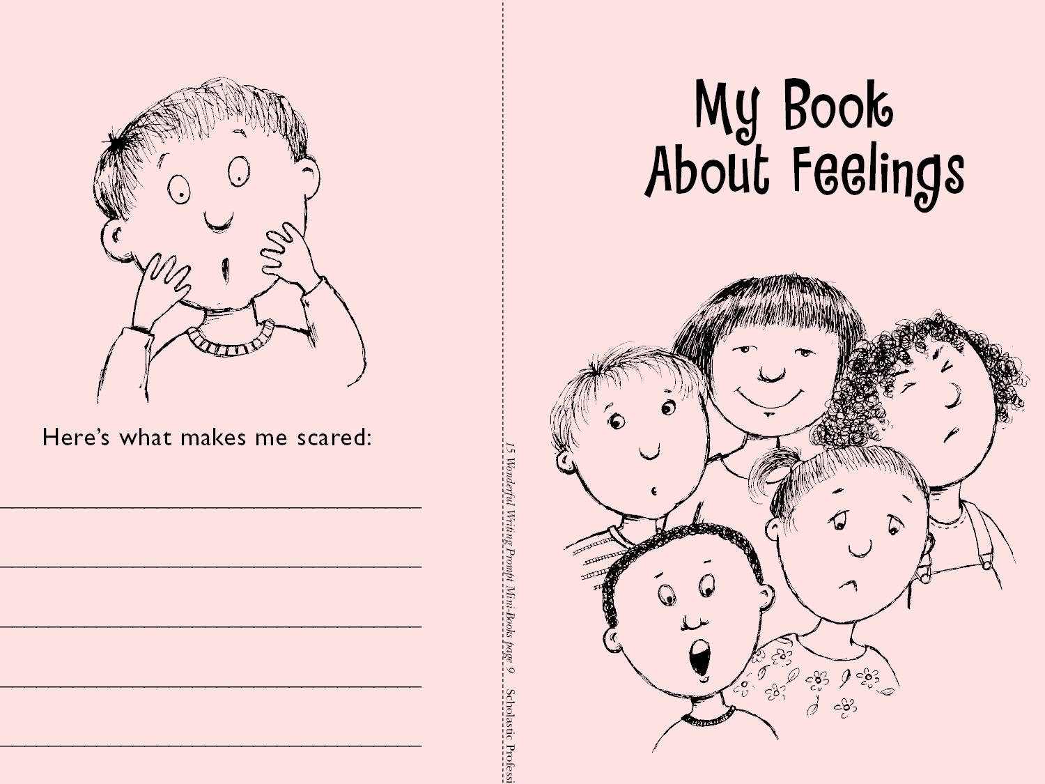 Feelings Worksheets for Preschoolers Minibook Feelings Worksheets & Printables