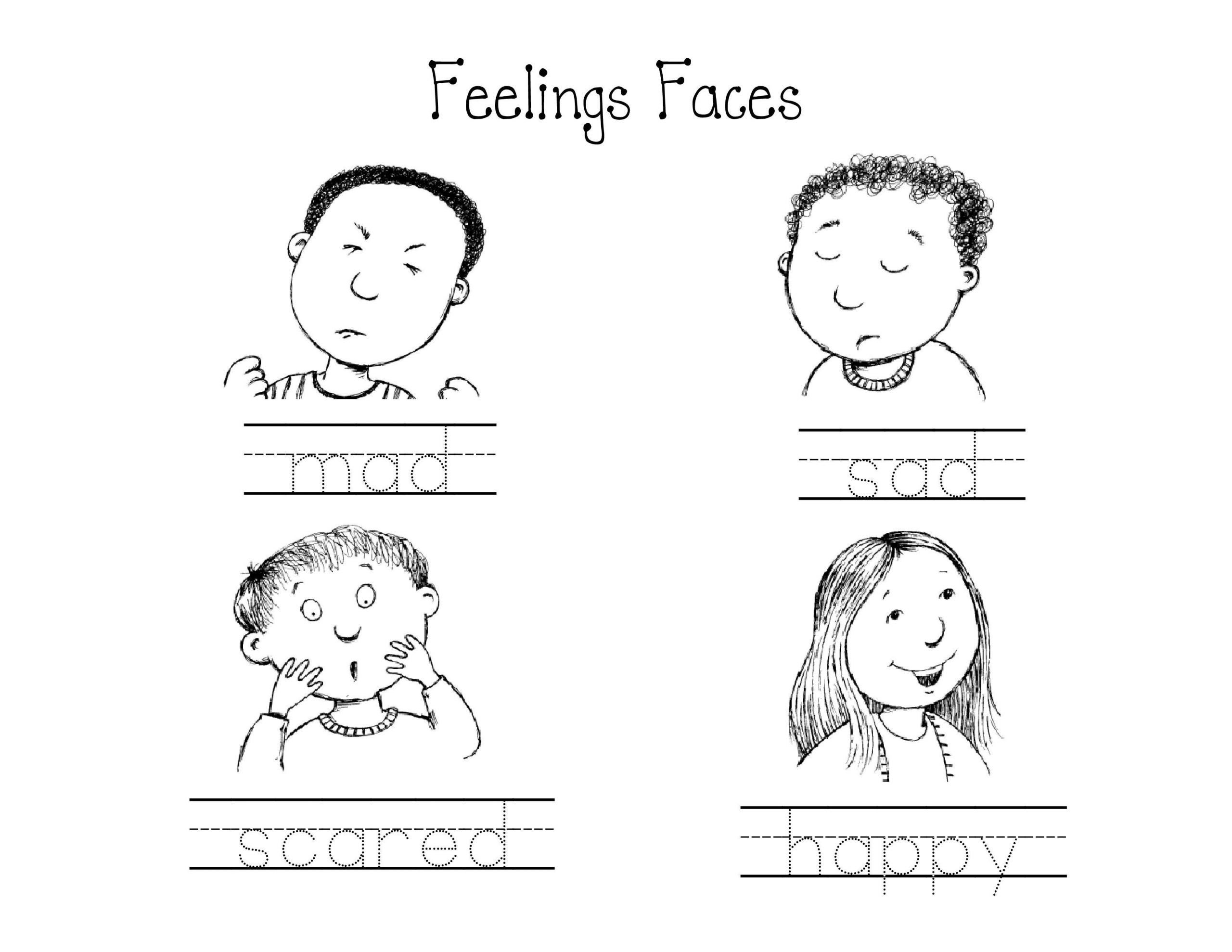 Feelings Worksheets for Preschoolers Pin On Feelings