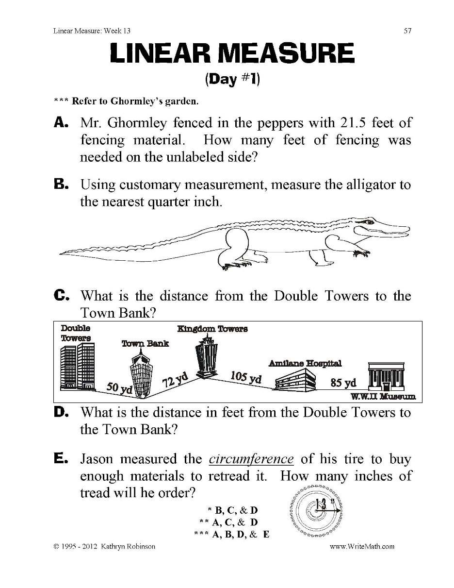 Fifth Grade Measurement Worksheets Converting Measurement Worksheets Grade 5