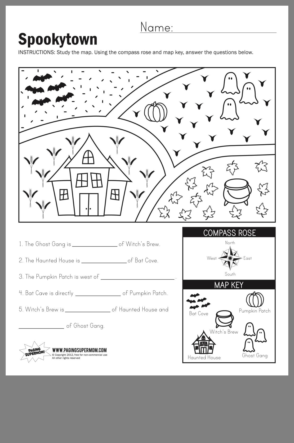 First Grade Map Skills Worksheets Pin by Alex Neithardt On School