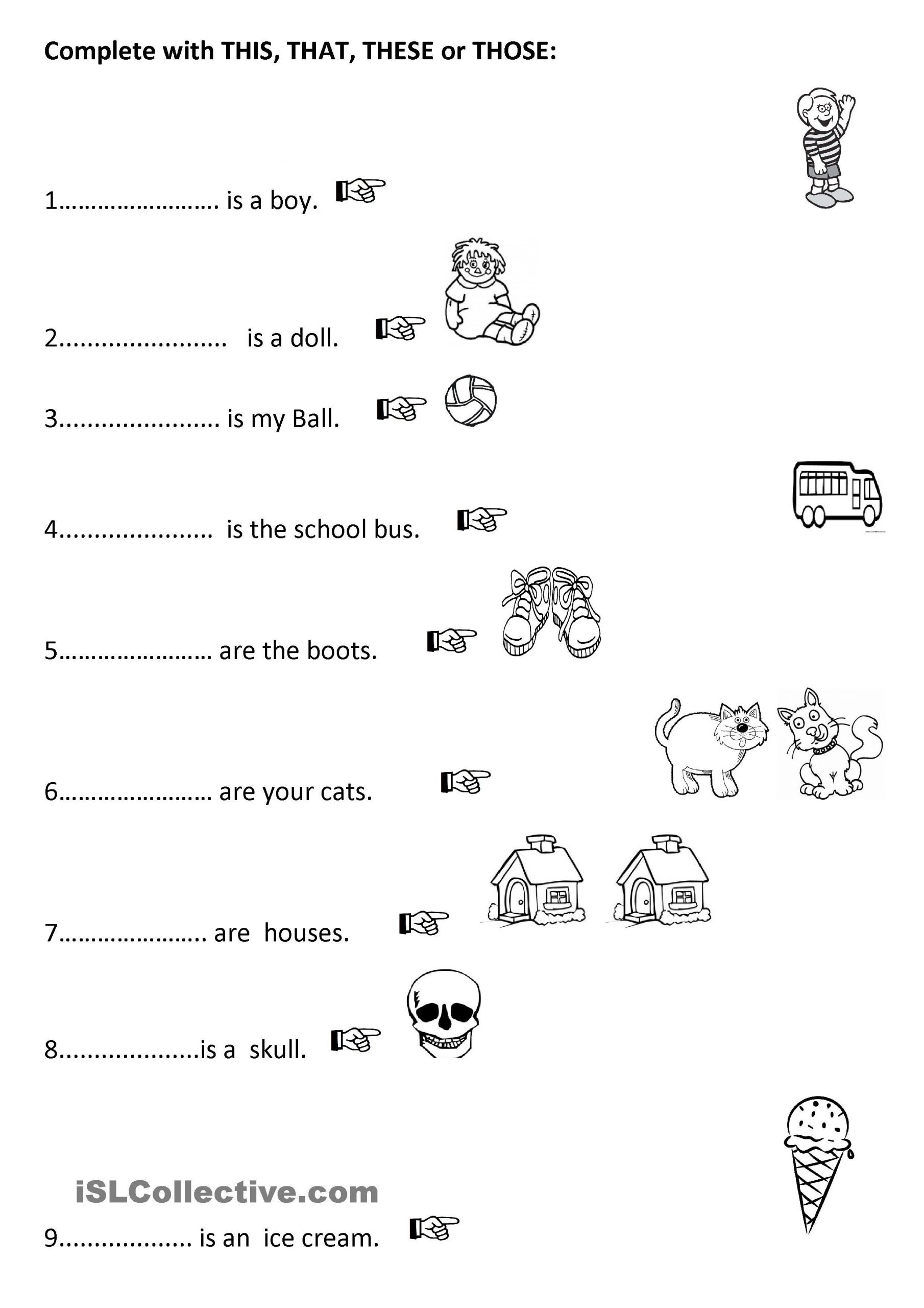 First Grade Pronoun Worksheets E Click Print Document