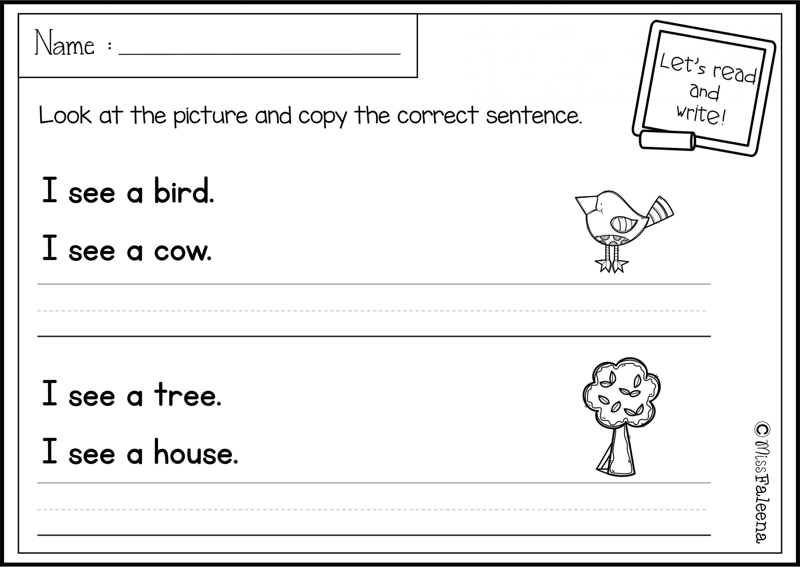 First Grade Sentence Worksheets there are 20 Pages Of Sentence Writing Worksheets In This