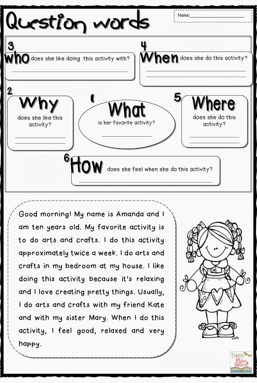 First Grade Vocabulary Worksheets All Students First Grade Worksheets Gallery Photos My