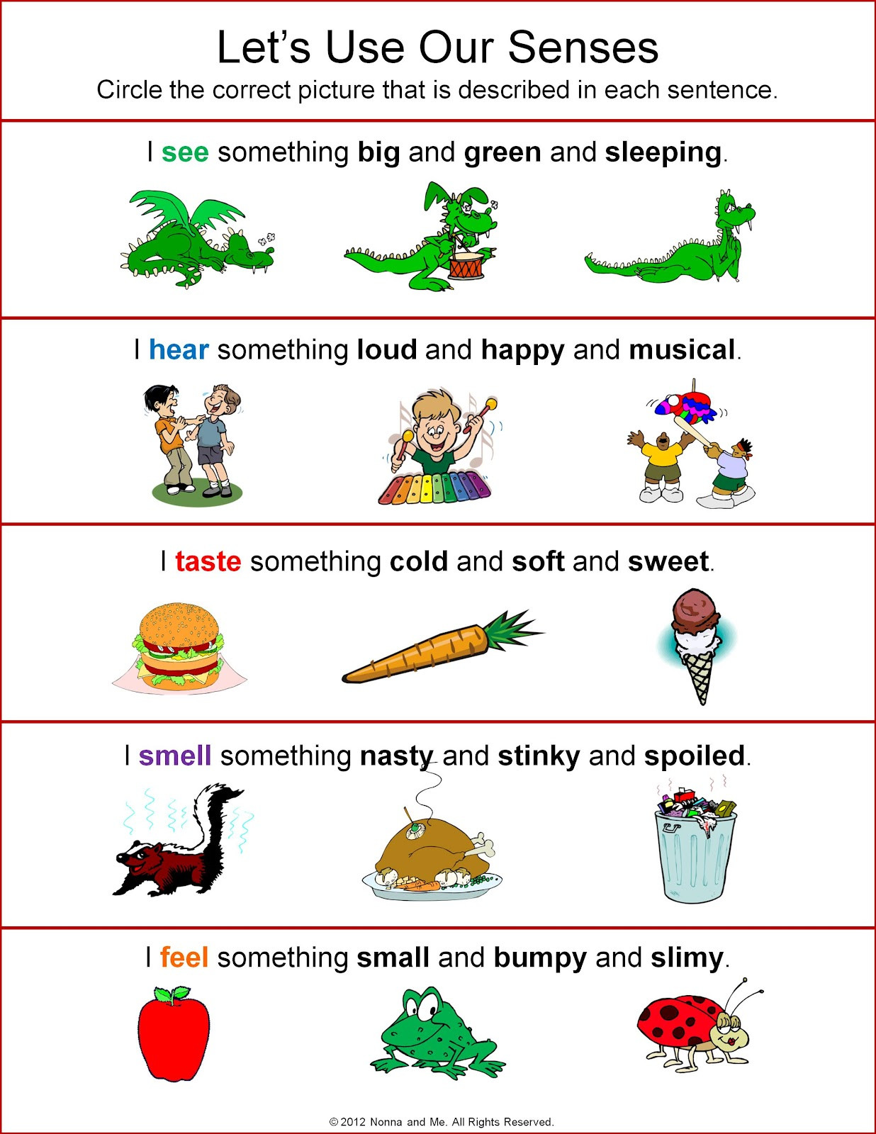 Five Senses Worksheets Preschool Five Sense Worksheet New 75 Five Senses Activities and