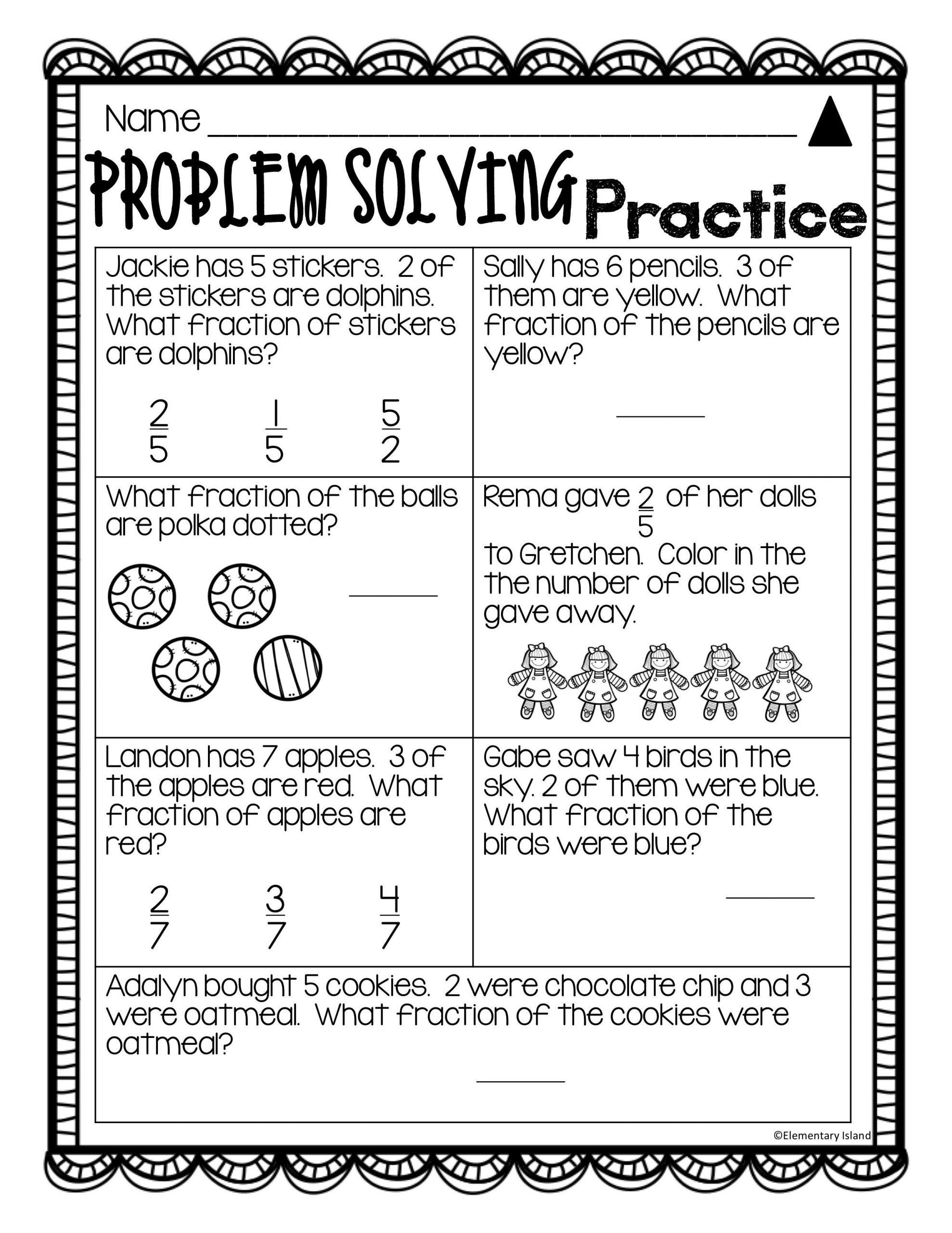 Fractions Worksheets 2nd Grade Fraction Worksheets 2nd Grade Differentiated Leveled