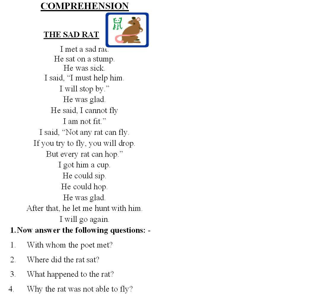 Free 2nd Grade Comprehension Worksheets Prehension Igcse Worksheets Grade 2nd Math Puzzle In