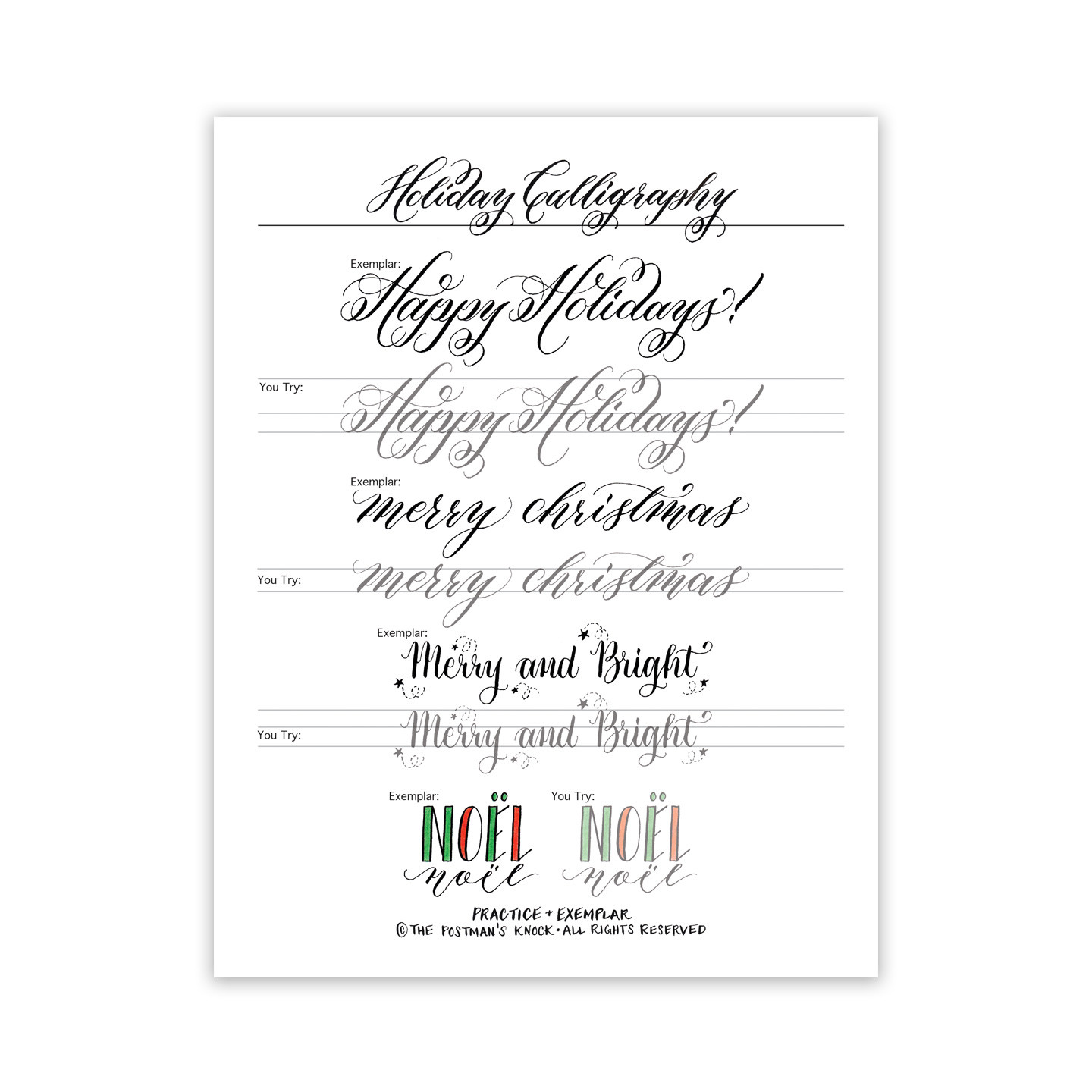 Free Calligraphy Worksheets Printable Calligraphy Worksheets Dip Pen