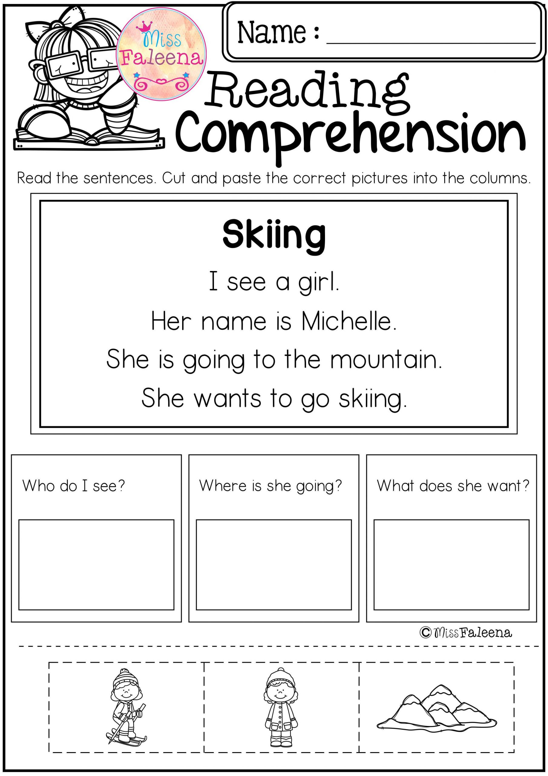Free First Grade Reading Worksheets Pin On Literacy Resources
