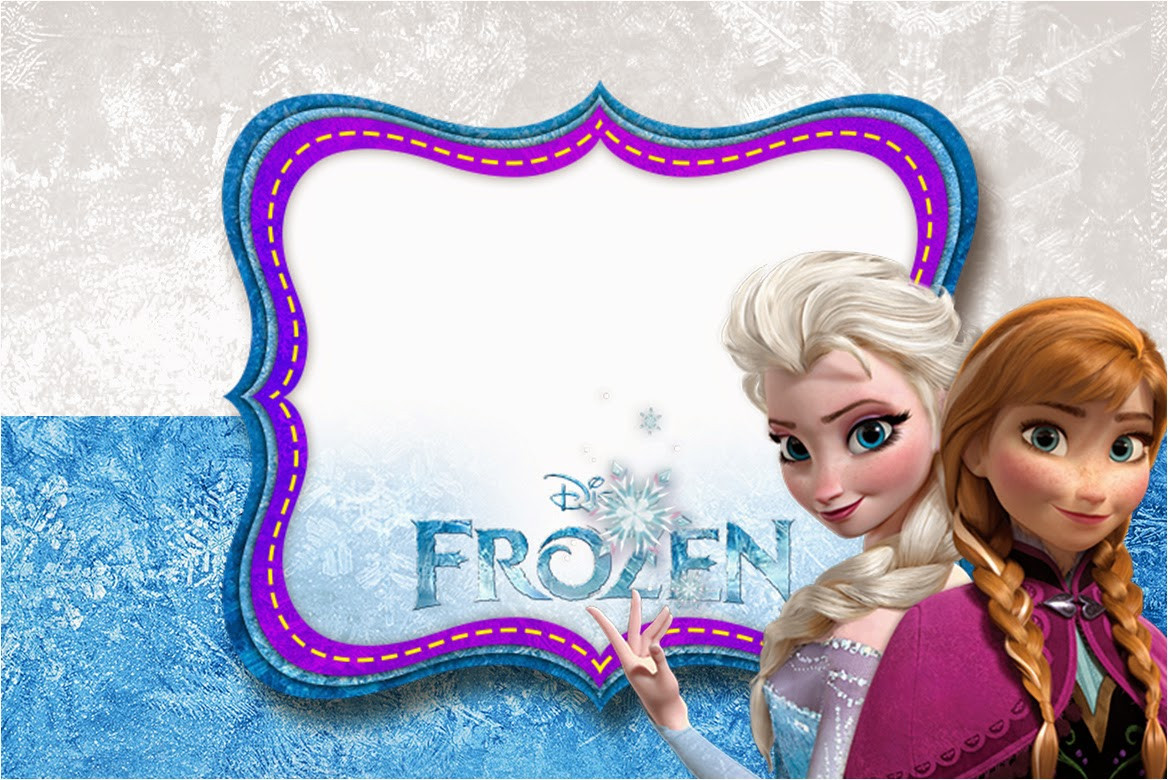 Free Frozen Invitations Printable Frozen Birthday with Snow Free Printable Invitations Oh