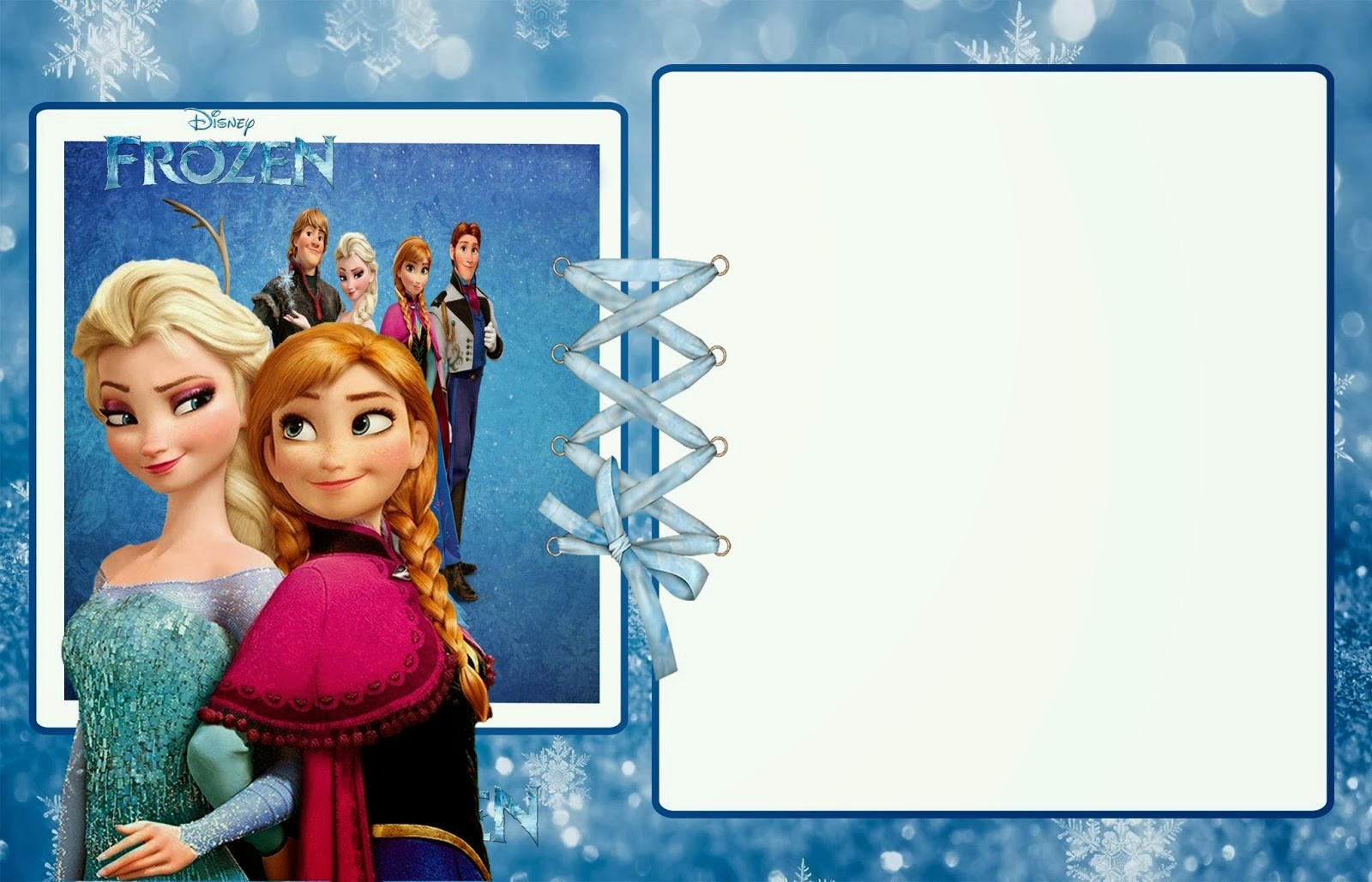 Free Frozen Invitations Printable Frozen Party Free Printable Invitations Oh My Fiesta In