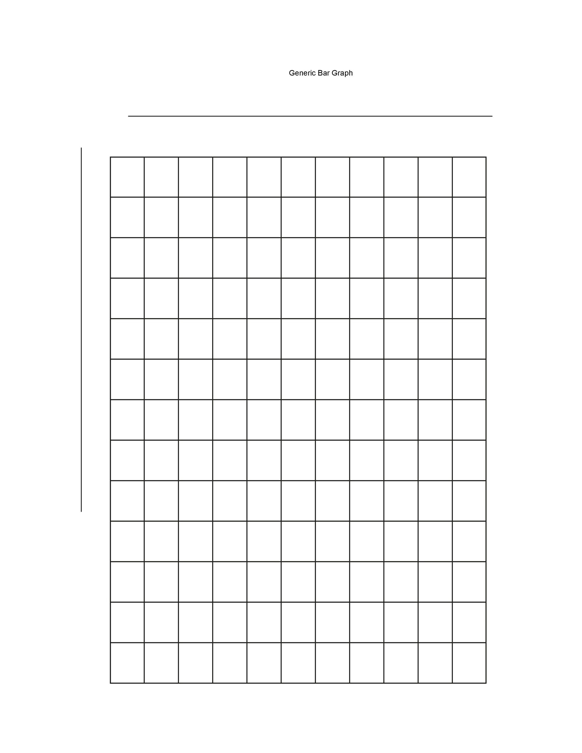 Free Printable Bar Graph 41 Blank Bar Graph Templates [bar Graph Worksheets]