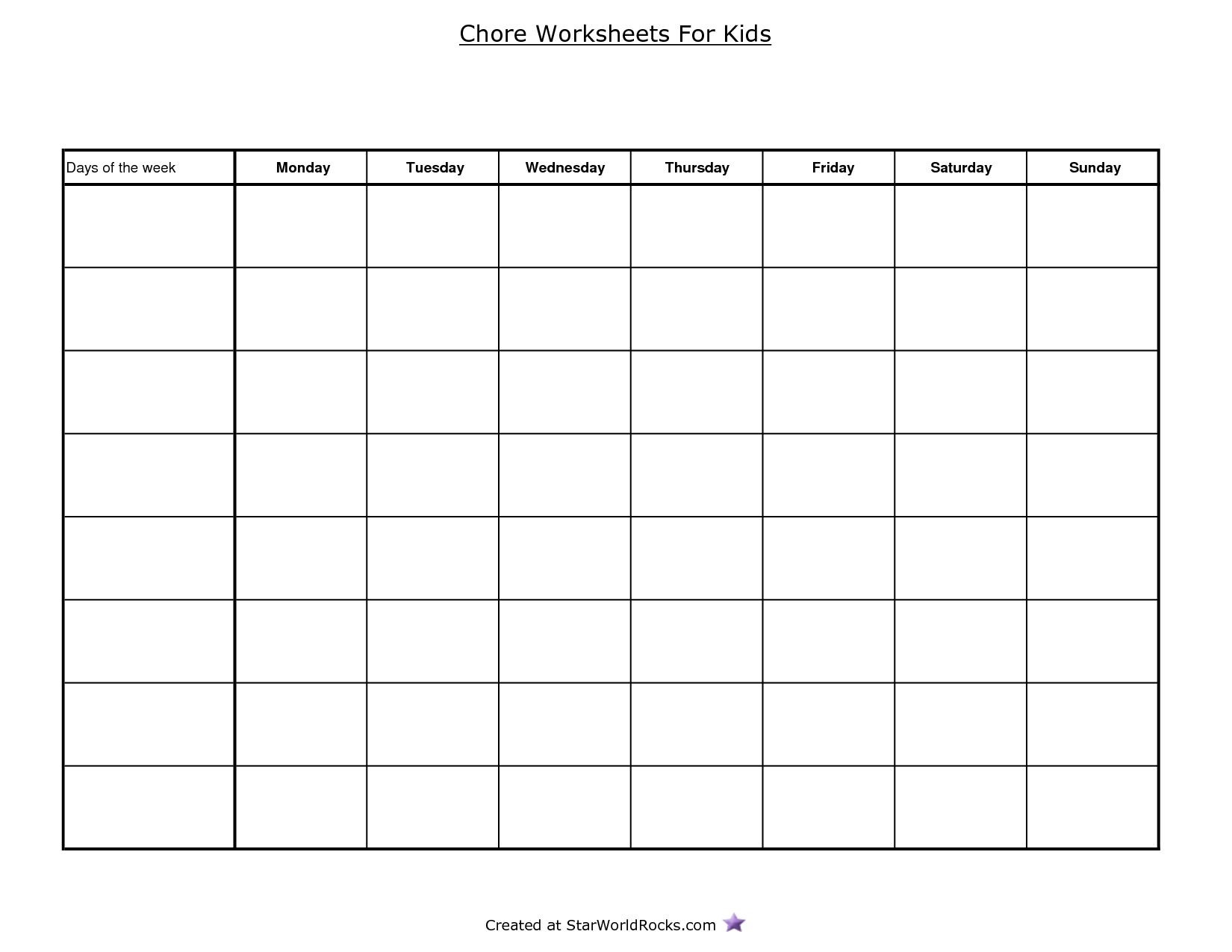 Free Printable Bar Graph Best S Free Printable Blank Charts Blank Chore