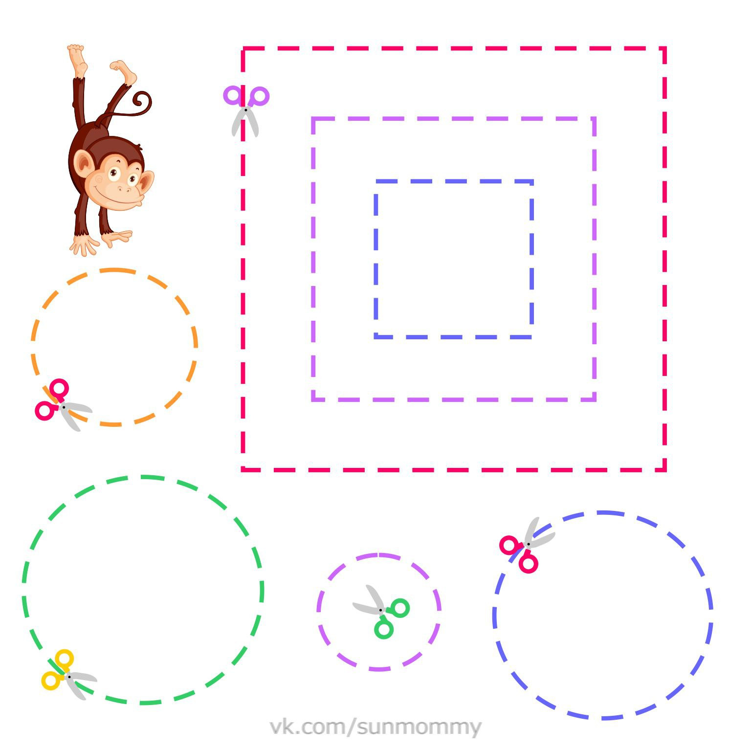 Free Printable Cutting Worksheets 10 Cut and Paste Worksheets for Preschool