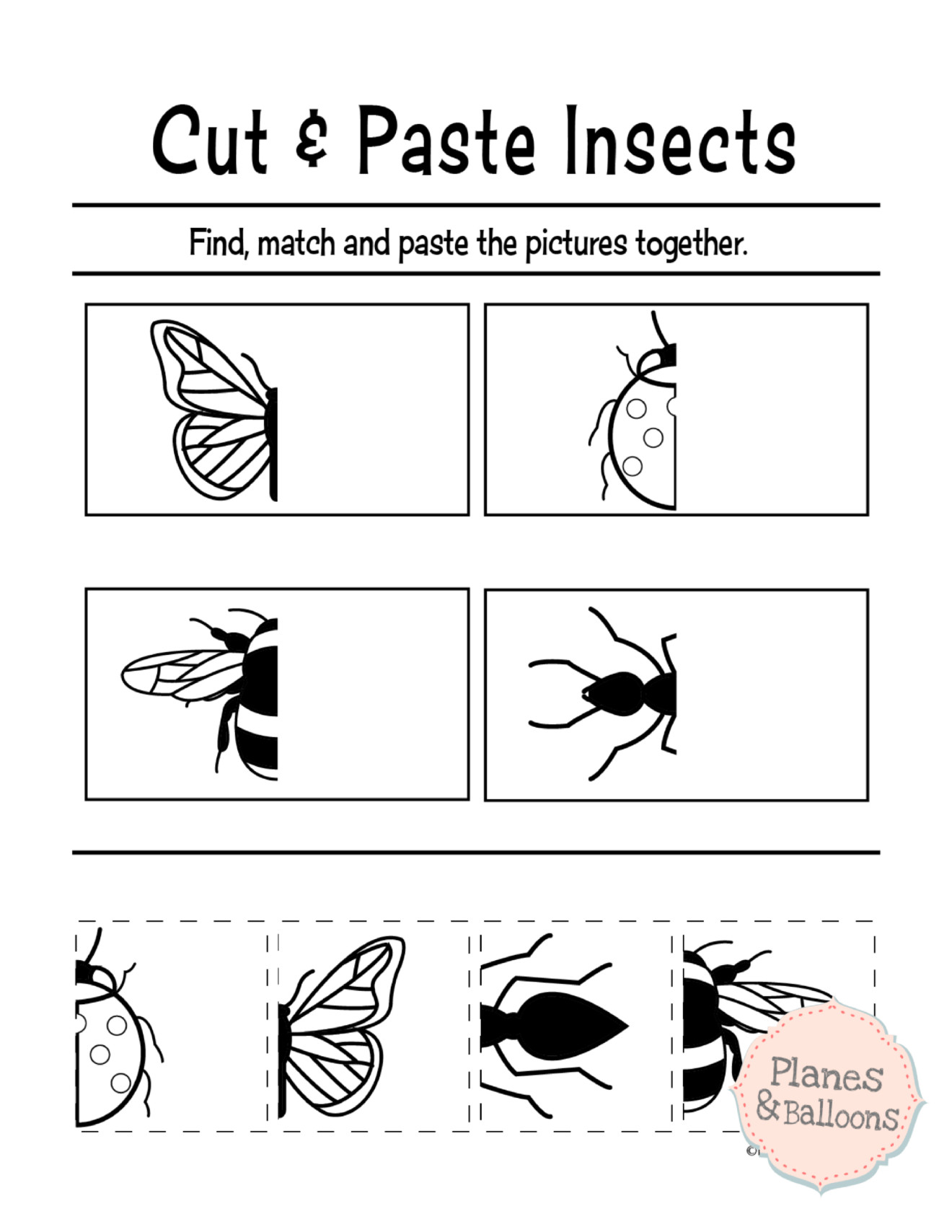 Free Printable Cutting Worksheets Free Cut and Paste Sequencing Worksheet for Kindergarten