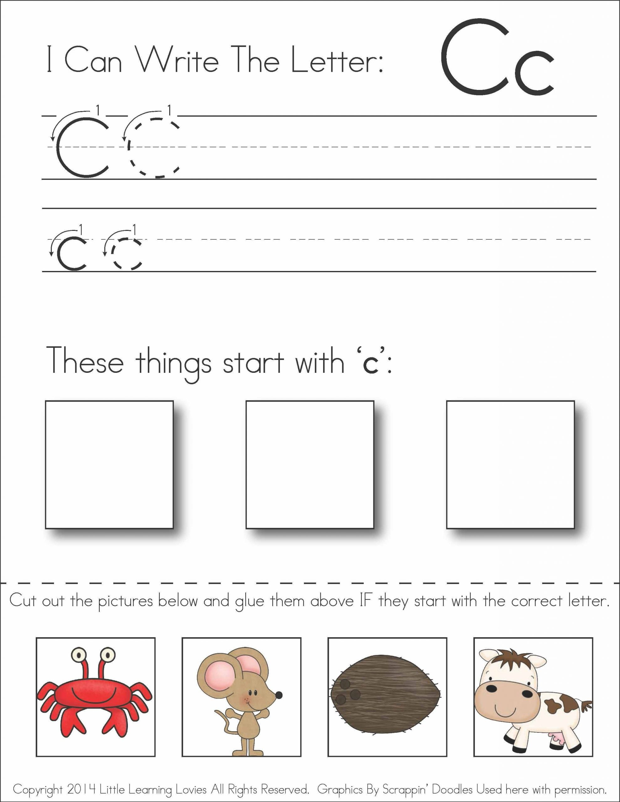 Free Printable Cutting Worksheets Preschool Worksheets Cut and Paste