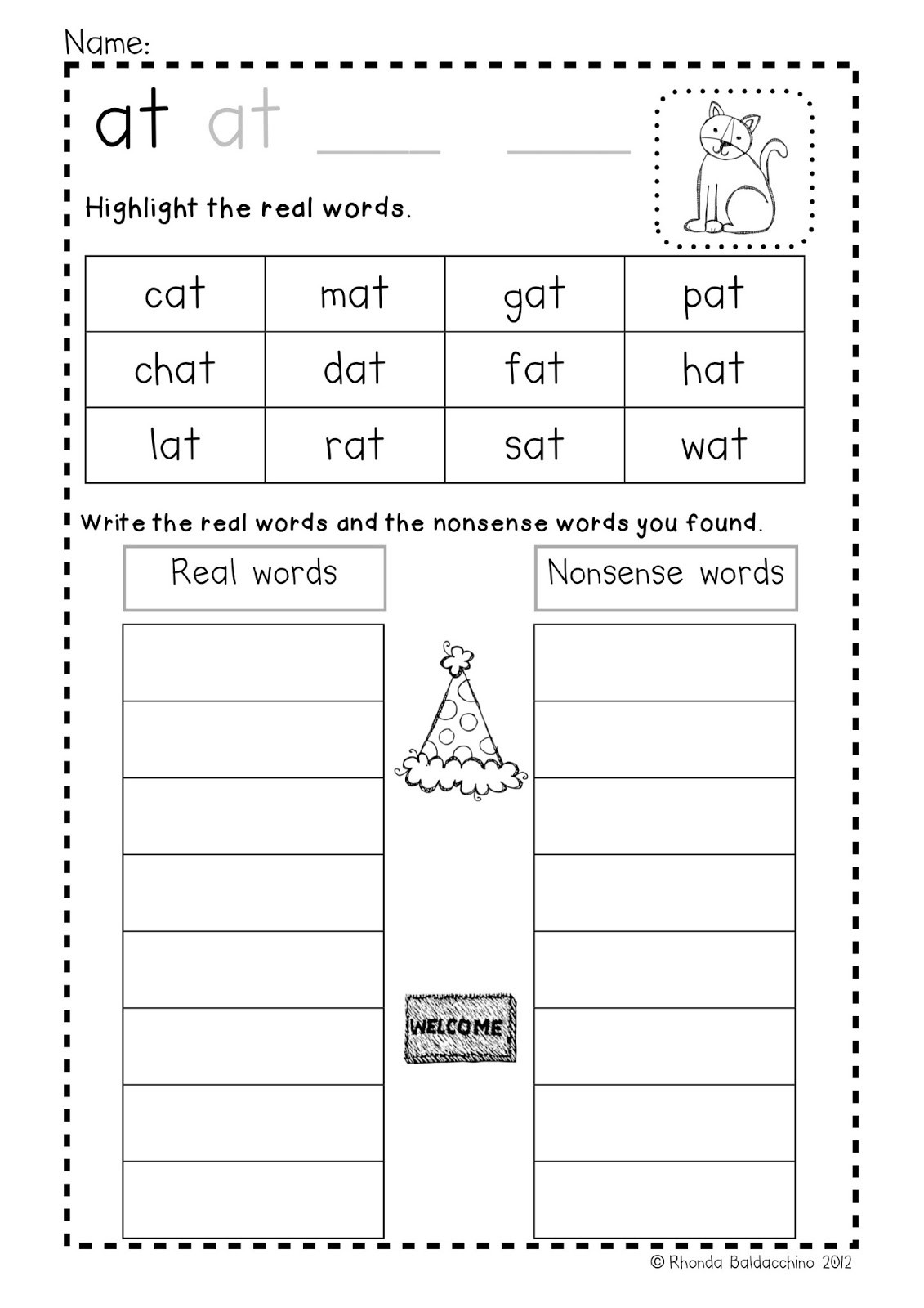 Free Printable Cvc Worksheets Cvc Word Writing Activities