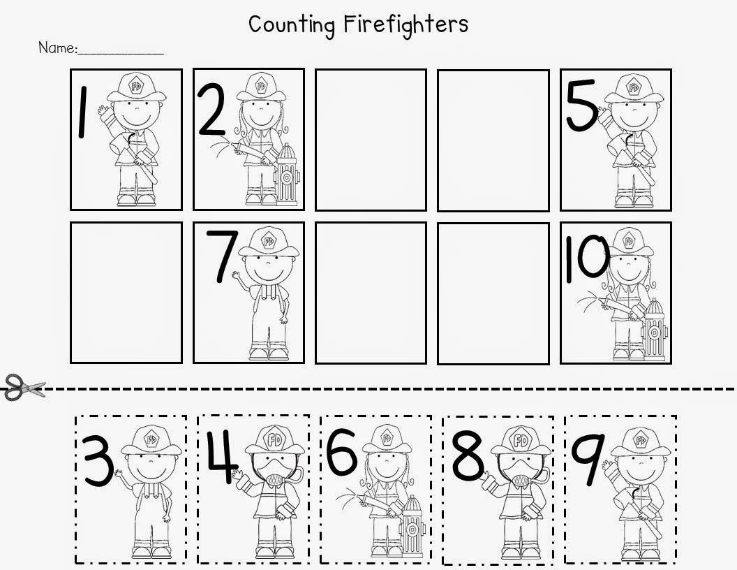 Free Printable Fire Safety Worksheets Fire Safety Freebies