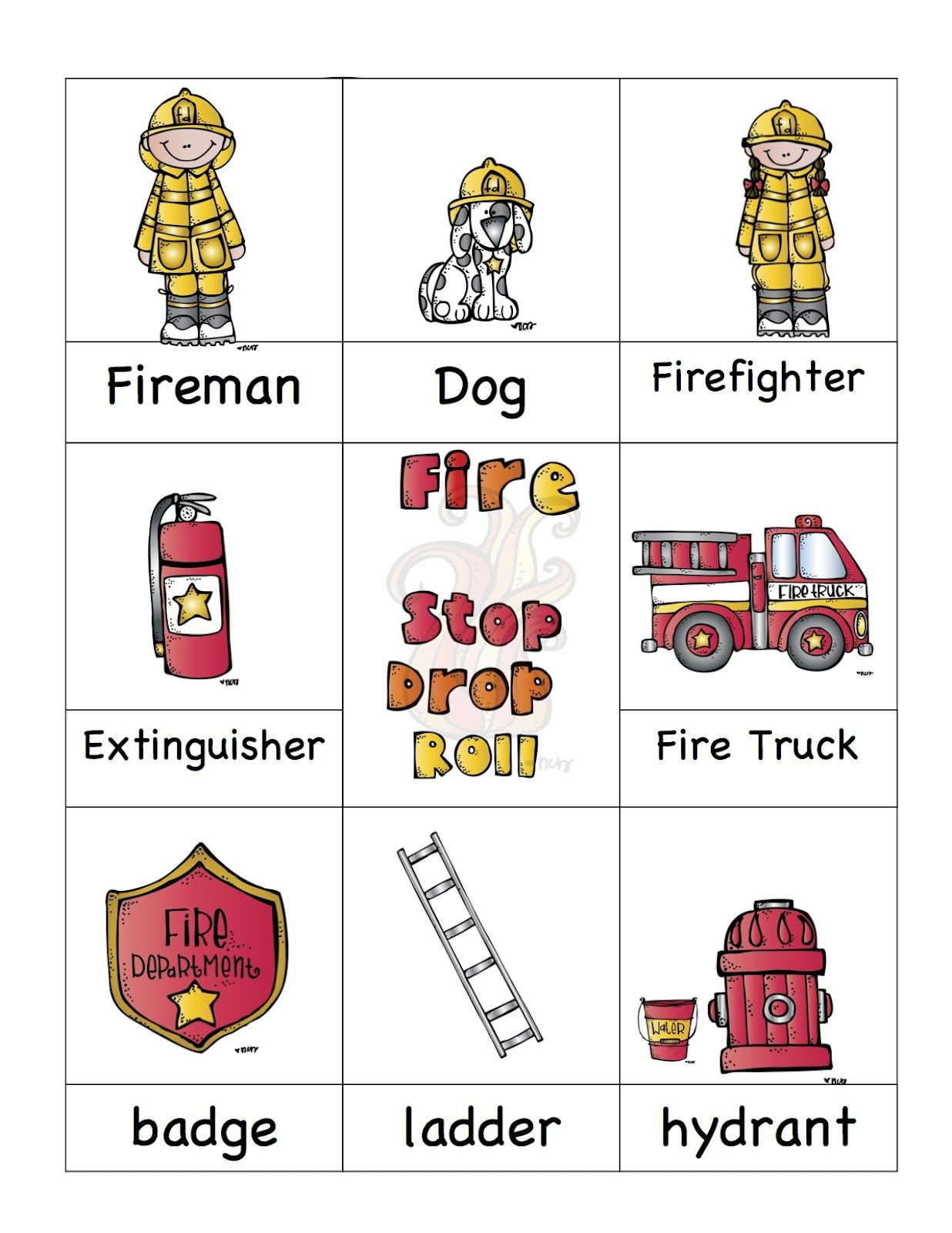 Free Printable Fire Safety Worksheets Preschool Printables