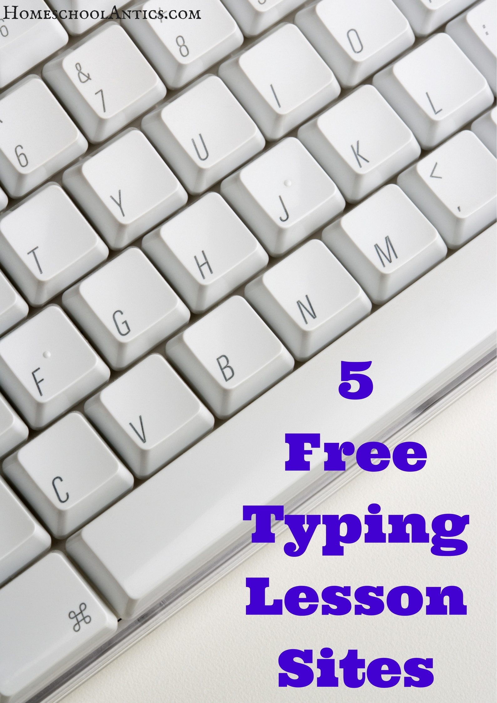 Free Printable Keyboarding Worksheets 5 Free Typing Lesson Sites Homeschool Antics