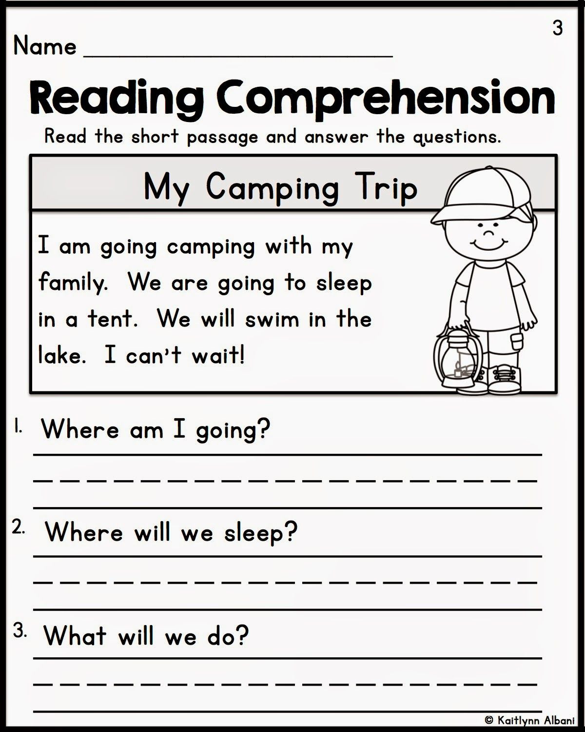 Free Printable Kindergarten Fluency Passages Kindergarten Reading Prehension Passages with Images