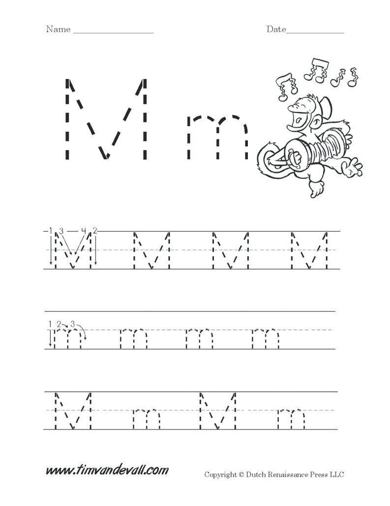 Free Printable Letter M Worksheets Letter M Worksheets for Free Download Letter M Worksheets
