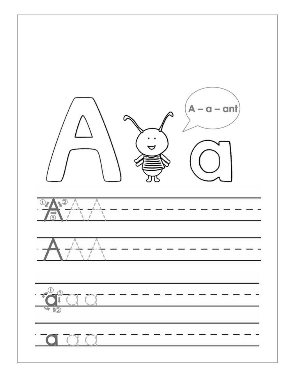 Free Printable Letter P Worksheets Worksheet Writing Worksheet Printable Worksheets and