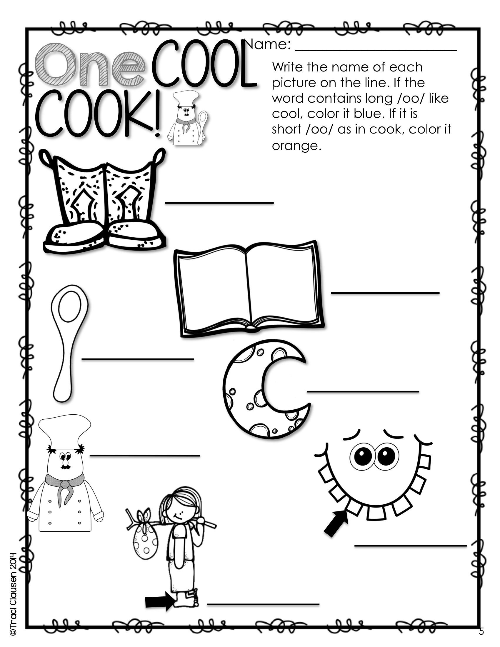 Free Printable Long Vowel Worksheets Reading Vowels & Phonics Activities and Games Bossy R and