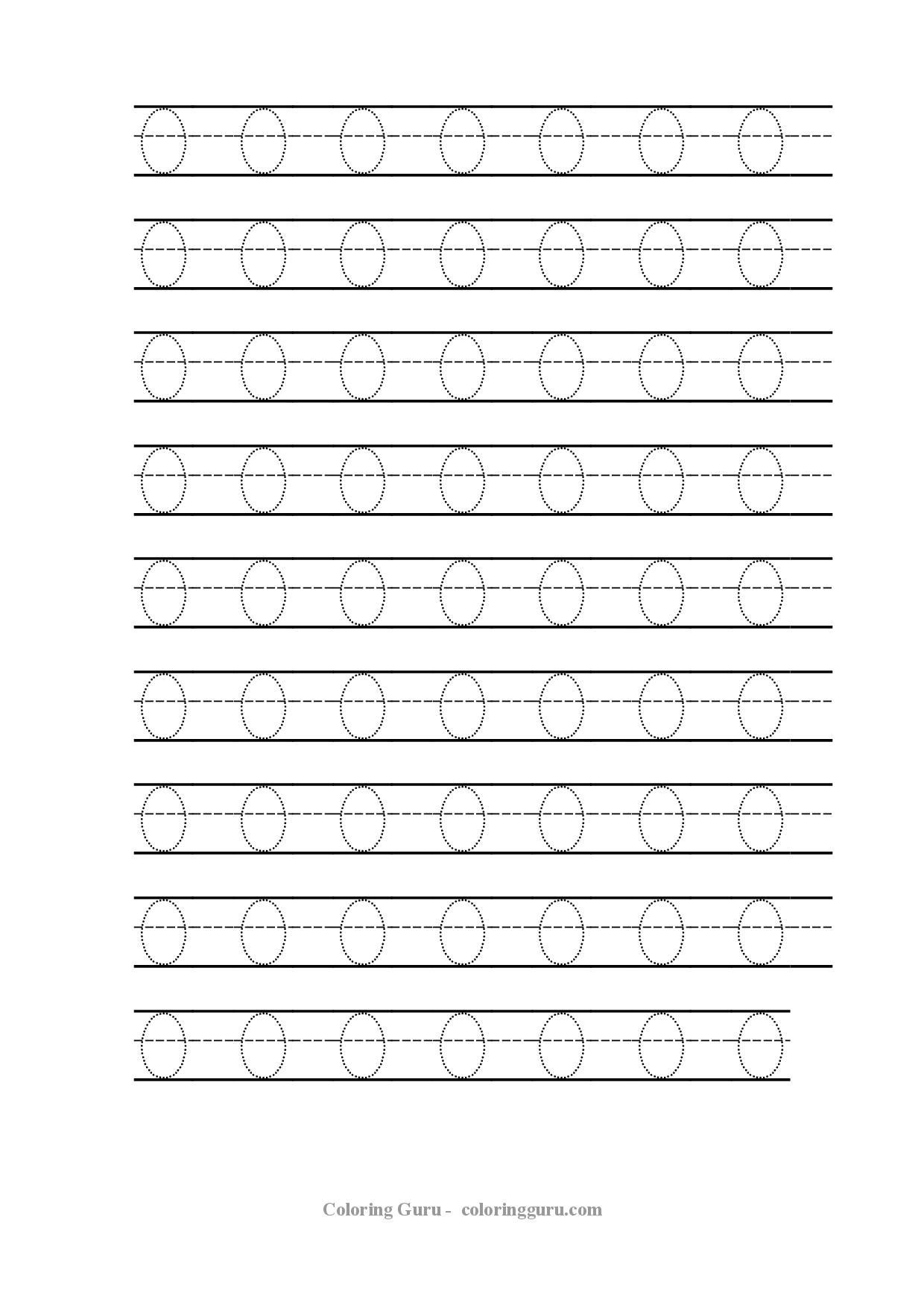 Free Printable Number Tracing Worksheets Free Printable Tracing Number 0 Worksheets
