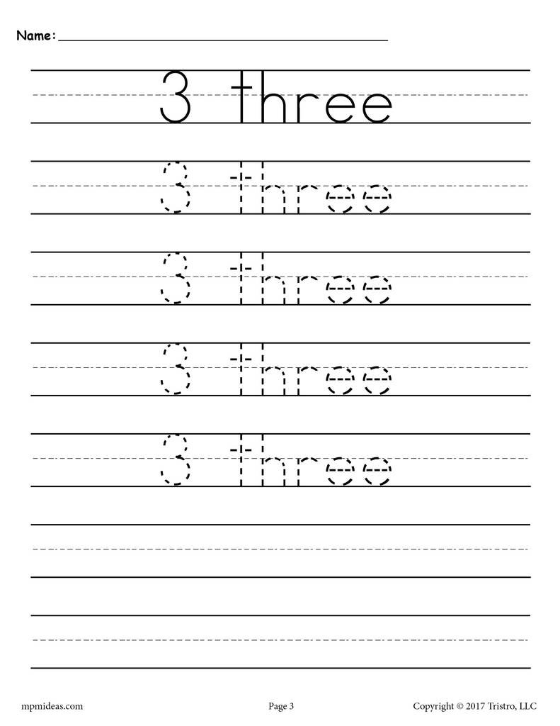 Free Printable Number Tracing Worksheets Worksheets Fabulous Name Tracing Worksheets Picture