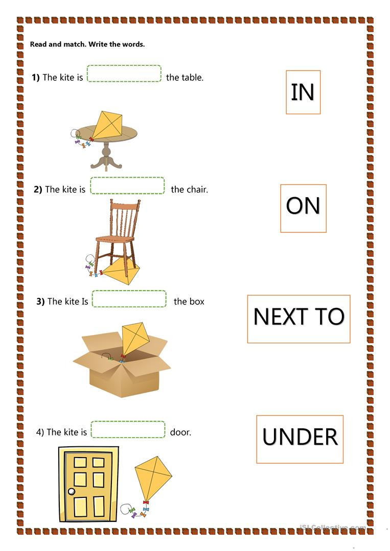 Free Printable Preposition Worksheets Prepositions Lessons Tes Teach