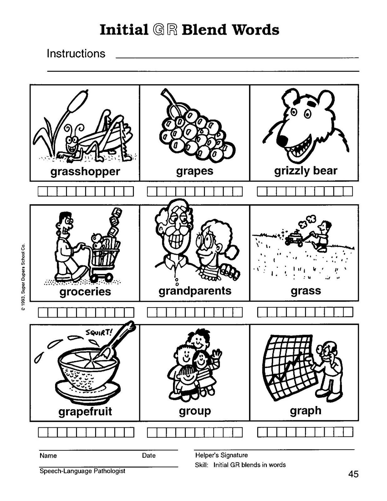 Free Printable R Blends Worksheets R Blend Gr 45 1 237—1 600 Pixels