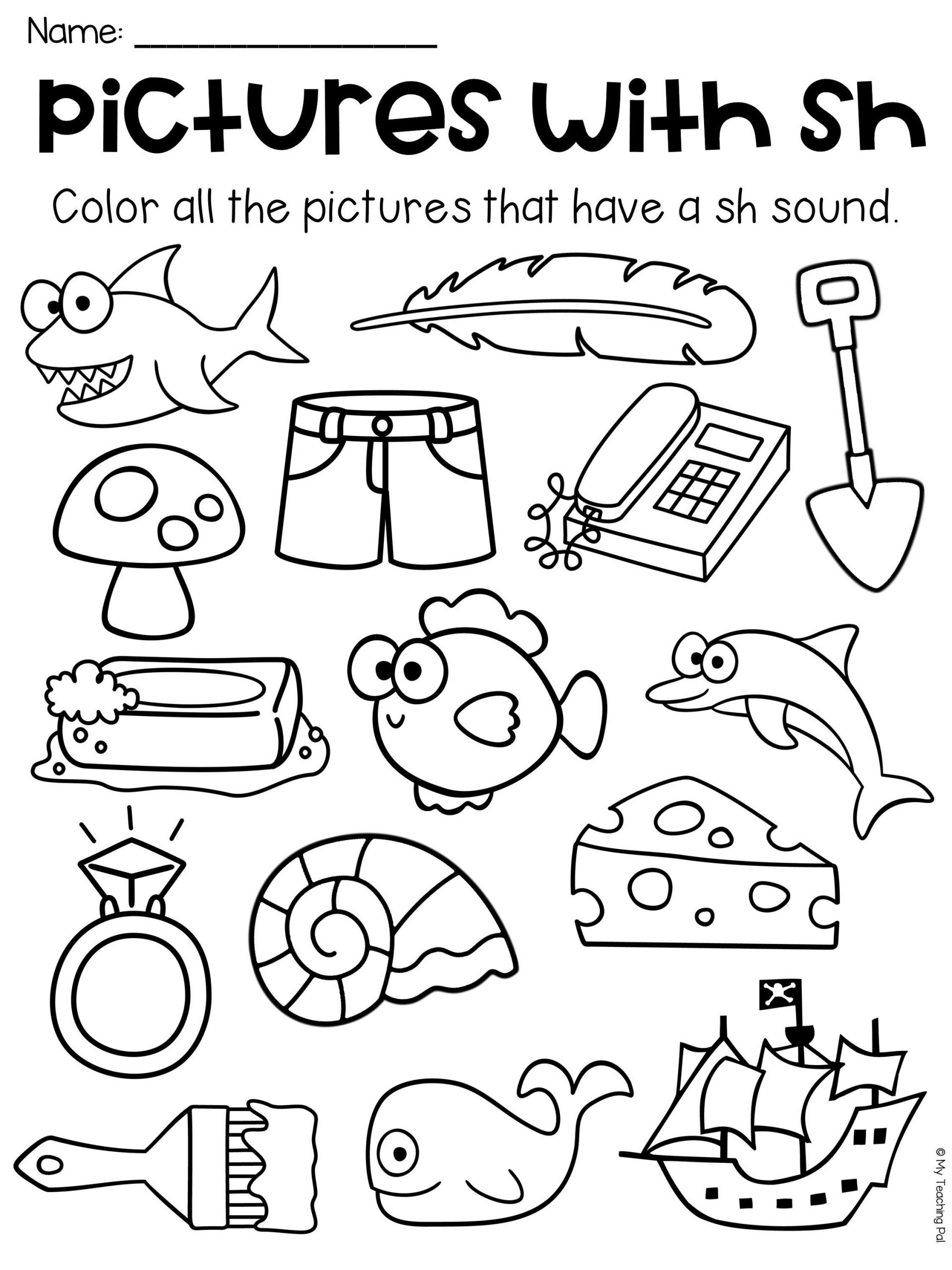Free Printable R Blends Worksheets Sh Worksheet Packet Digraphs Worksheets Distance