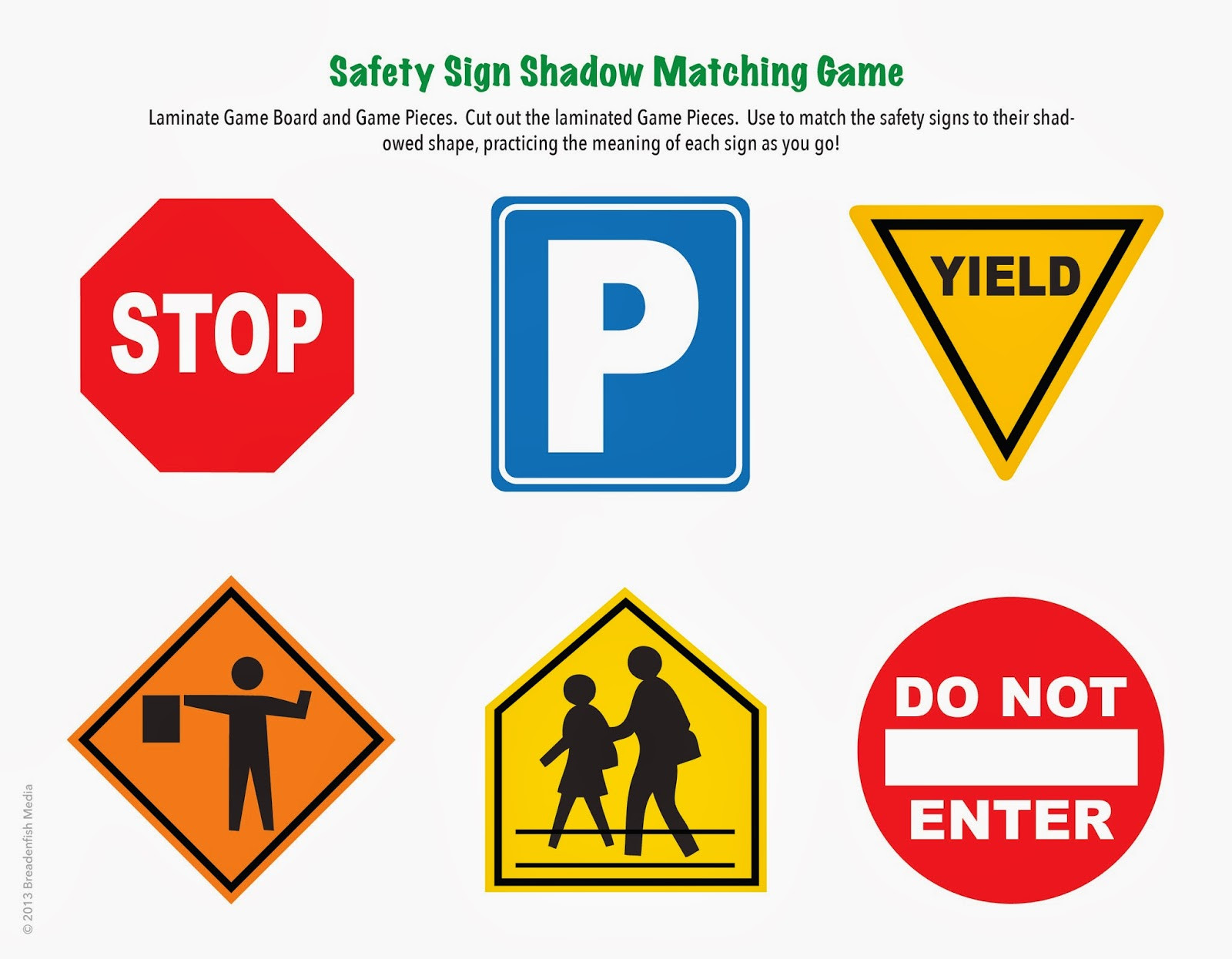 Free Printable Safety Signs Worksheets top Printable Safety Signs