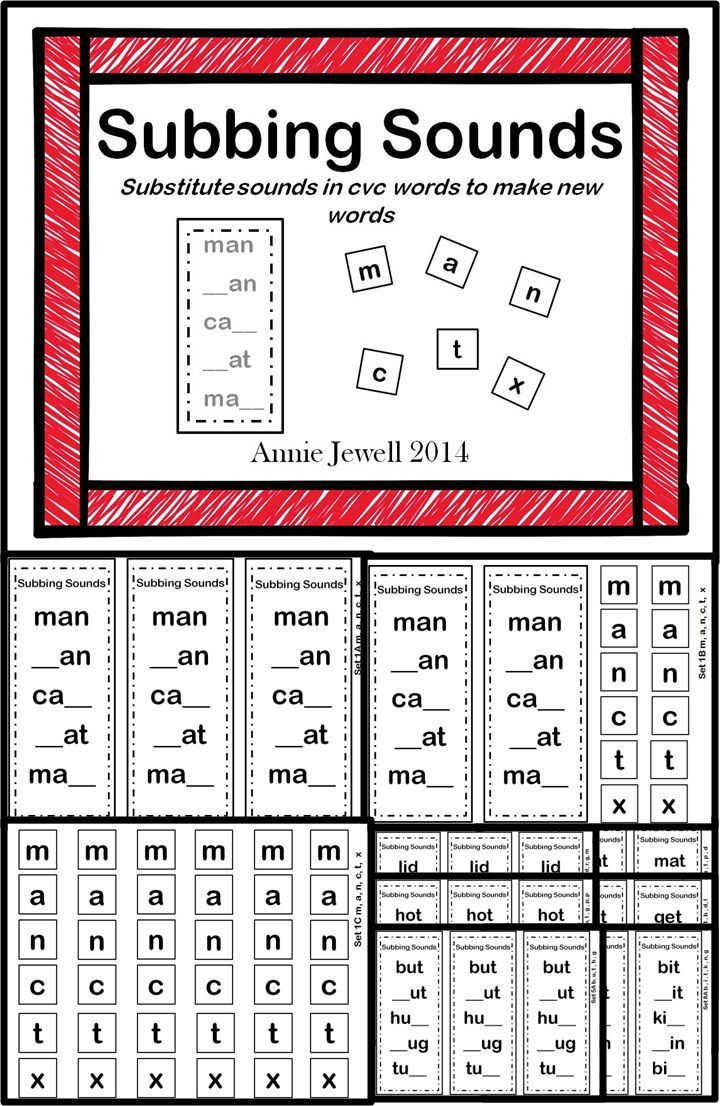 Free Printable Word Ladders Word Ladders Substitute sounds to Make New Words