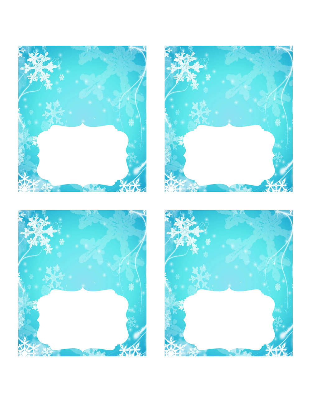 Frozen Free Printable Food Labels Free Frozen Printables – Slavyanka
