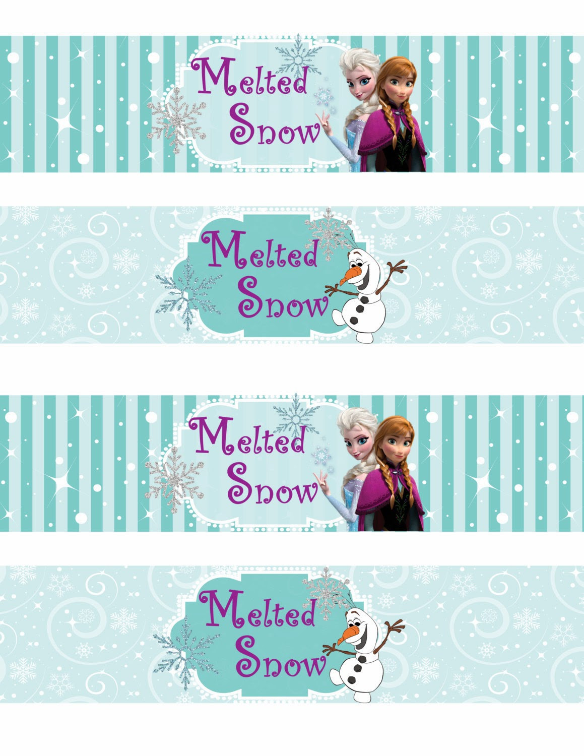 Frozen Free Printable Food Labels Free Printable Frozen Labels Oh My Fiesta In English