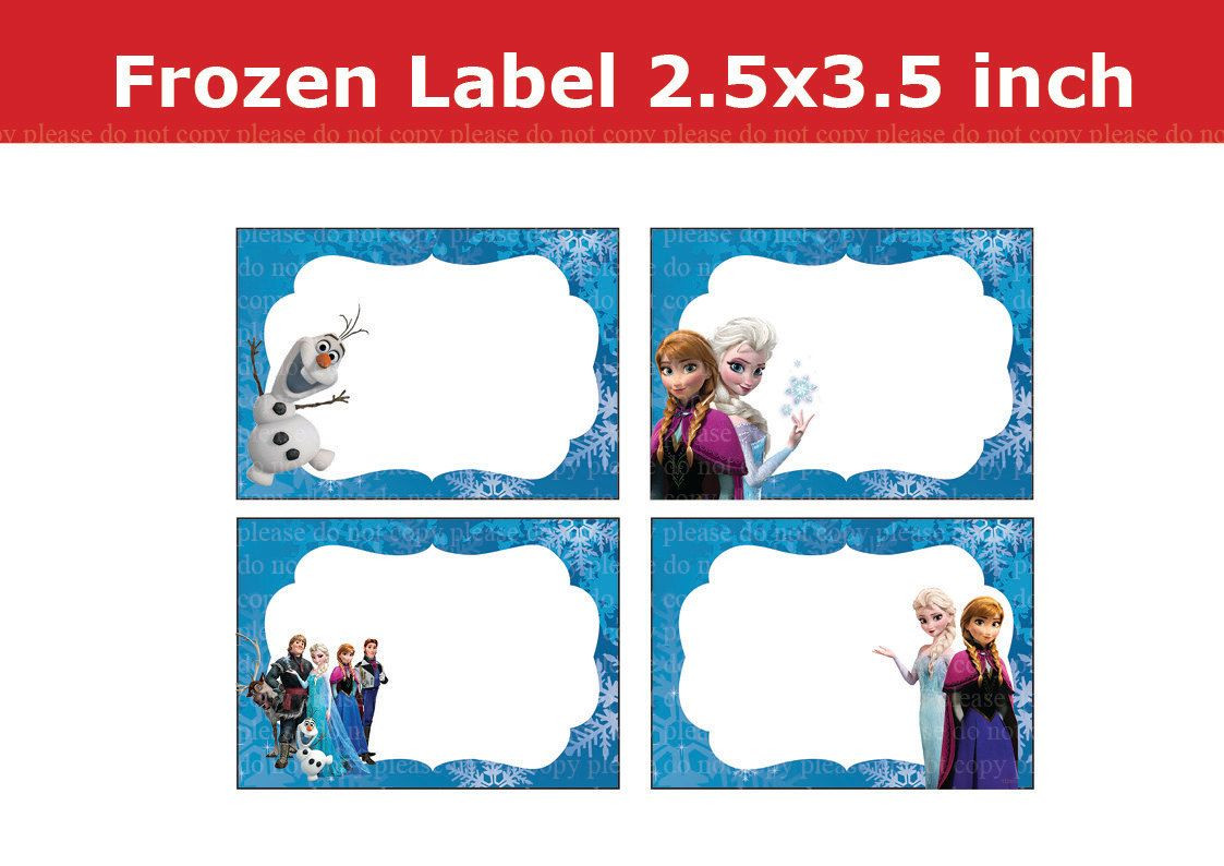 Frozen Free Printable Food Labels Image Result for Frozen Party Food Labels Free Printable