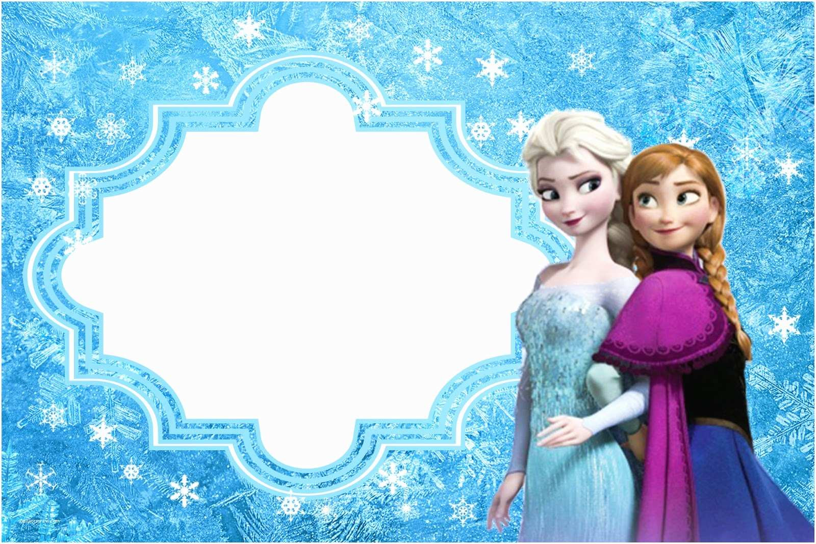 Frozen Invitations Printable Free Frozen Birthday Invitations Frozen Free Printable Cards or