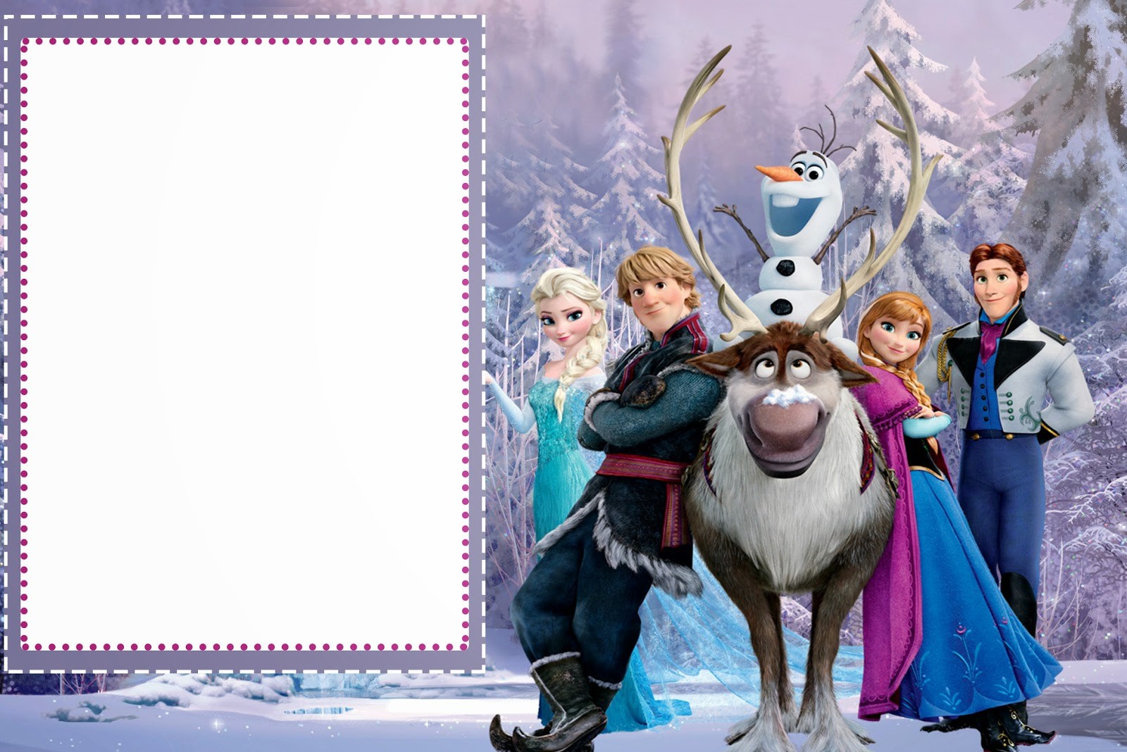 Frozen Printable Birthday Invitations Frozen Free Printable Cards or Party Invitations Oh My