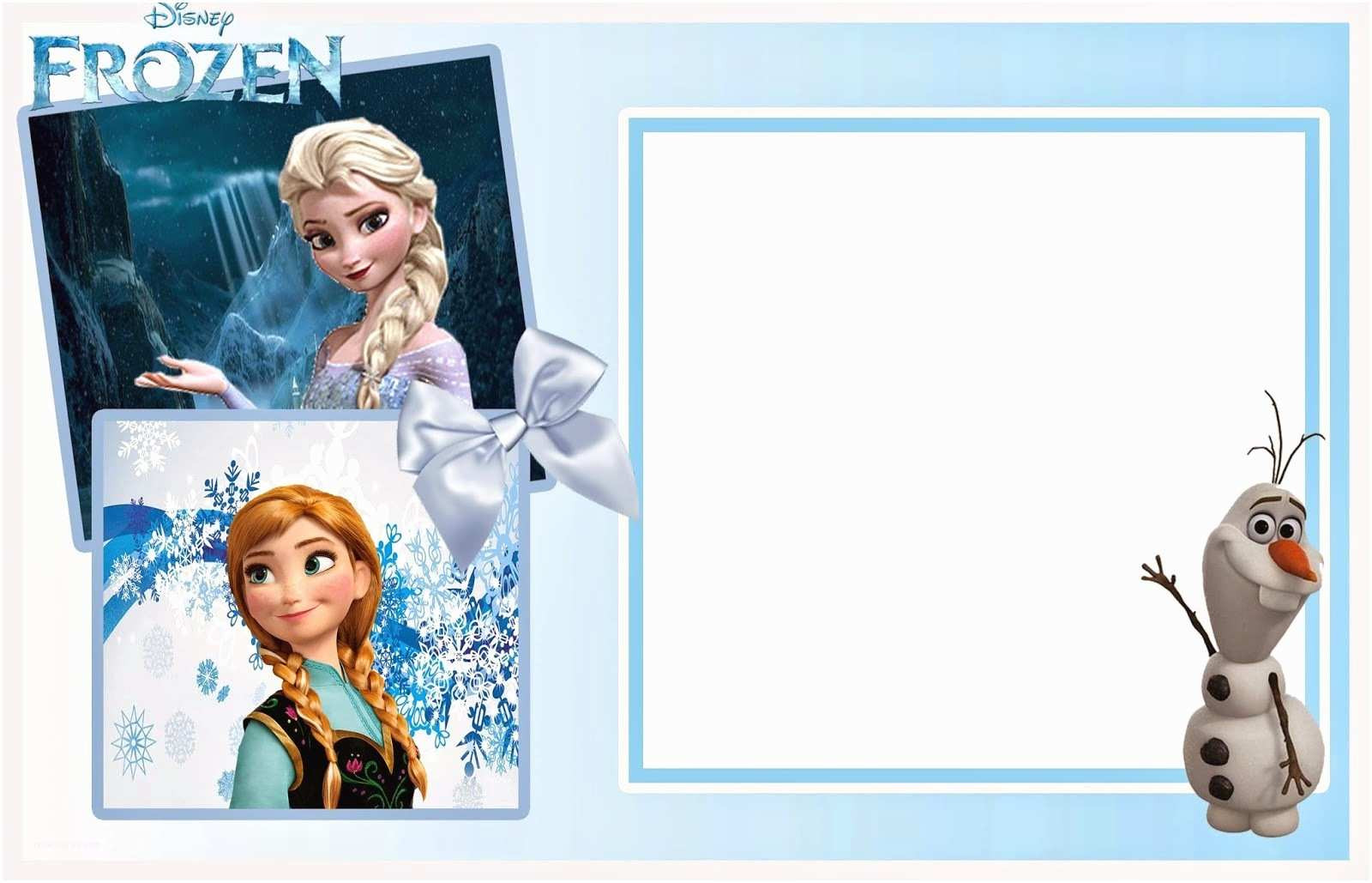 Frozen Printable Invitation Frozen Birthday Invitation so Cute Frozen Free Printable
