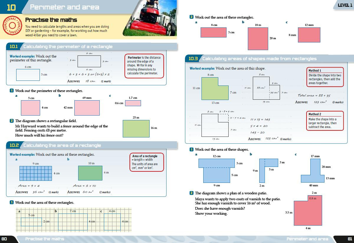 Functional Maths Worksheets Aqa Functional Maths 2010 – so What are Longman Doing About