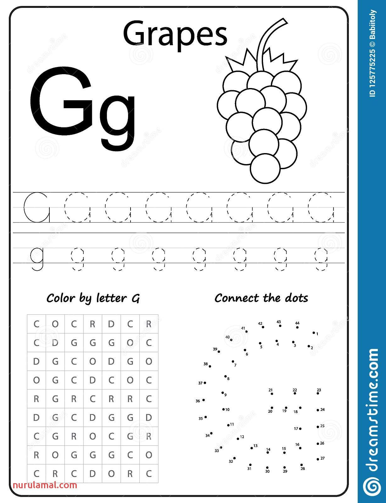 G Worksheets for Preschool Alphabet Worksheets Preschool Coloring Pages In 2020
